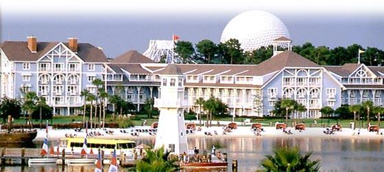 Walt Disney World Beach Club Villas