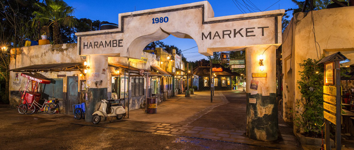 Largest expansion in park history in underway at Disney's Animal Kingdom theme park. Harambe Market Expands Disney Animal Kingdom Experience