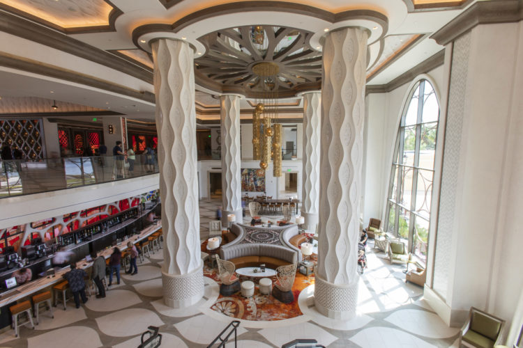 Gran Destino Tower Lobby at Disney's Coronado Springs Resort