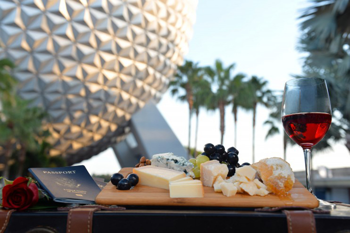 "Guests can sample tapas-sized tastes of inventive cuisine from more than 25 ethnic and specialty marketplaces during the Epcot International Food & Wine Festival at Walt Disney World Resort in Lake Buena Vista, Fla. The popular fall festival also features wine tastings, culinary demonstrations, mixology seminars, nightly ""Eat to the Beat"" concerts and a broad range of premium dining events. (Chloe Rice, photographer)"