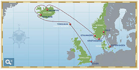 Disney Cruise Line 11-Night North Norwegian Fjords and Iceland Cruise