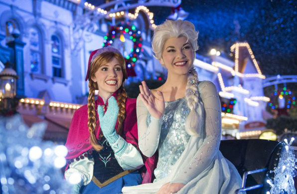 """Frozen"" Fun Joins Mickey's Very Merry Christmas Party at Magic Kingdom"