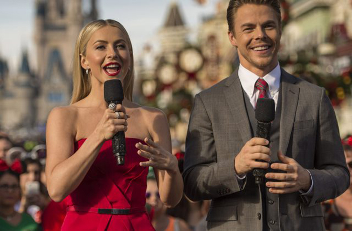 Disney Parks Prepares for Most 'Magical Christmas Celebration' Airing Dec. 25 Julianne and Derek Hough Host the 33rd Annual Telecast with Performances by Mariah Carey, Kelly Clarkson, Garth Brooks, Trisha Yearwood, OneRepublic