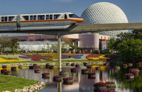 Fresh Flavors, Gardens, Music and Fun on Tap March 4-May 17, 2015 at 22nd Epcot International Flower & Garden Festival