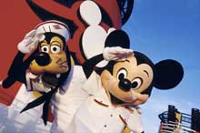 Character Experiences Abaord the Disney Cruise Line