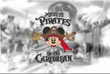 Disney Cruise Line Mickey's Pirate IN the Caribbean Party