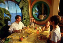 Dining at Parrot Cay Aboard the Disney Cruise Line
