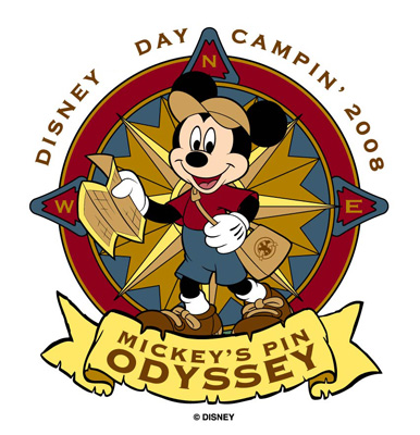 Disney Day Camping - Mickey's Pin Odyssey at the Disneyland Resort California