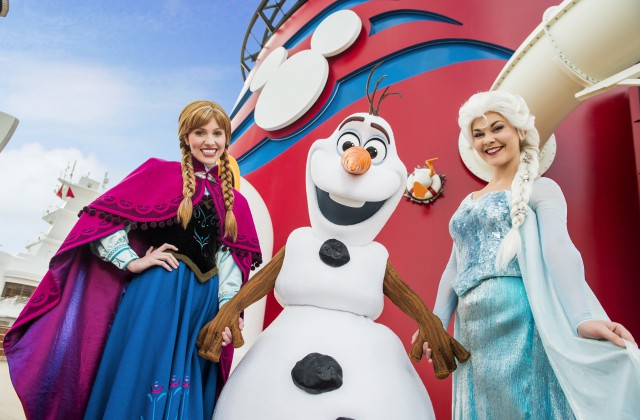 "Land of ""Frozen"" Coming to Disney Cruise Line This Summer. From the deck, to the stage and beyond, ""Frozen"" experiences add to summertime fun"
