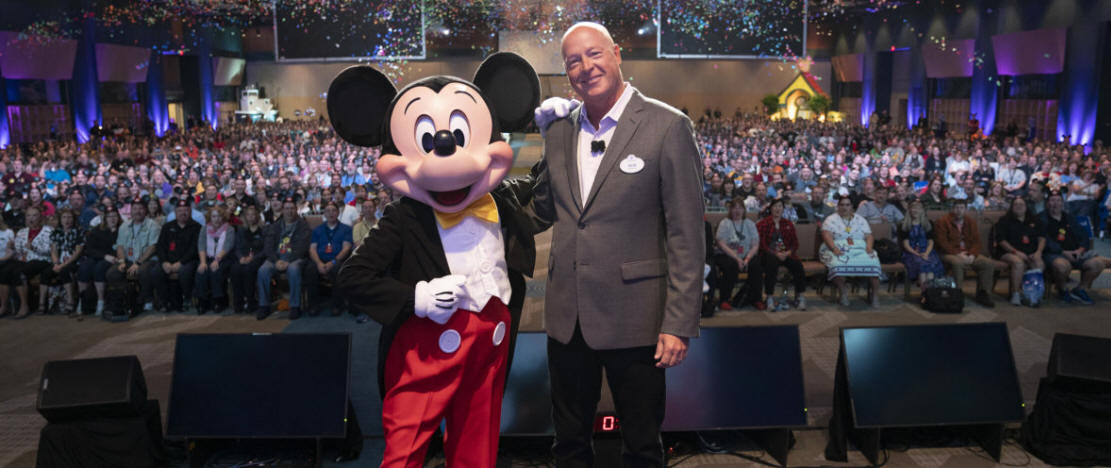 Walt Disney World News - Disney Parks, Experiences and Consumer Products Chairman Bob Chapek revealed exciting details of new experiences coming to Disney Parks during D23's Destination D: Celebrating Mickey Mouse fan celebration in Lake Buena Vista, Florida
