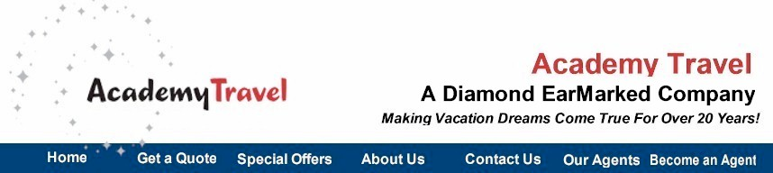 Academy Travel - A Diamond EarMarked Travel Agency