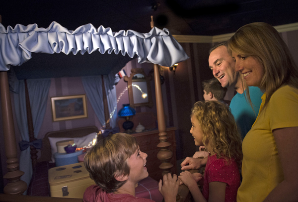 Walt Disney World News - Interactive Queue at Peter Pan's Flight in the Magic Kingdom