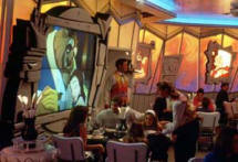 Dining at Animator's Palate Aboard the Disney Cruise Line